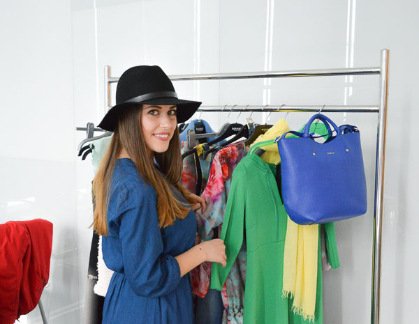 Denina Martin Exclusively Behind the Scenes of Bulgaria Mall's Image Shoot