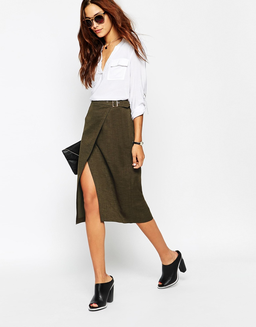 Asos A Line Skirt Spring Wearable Trends