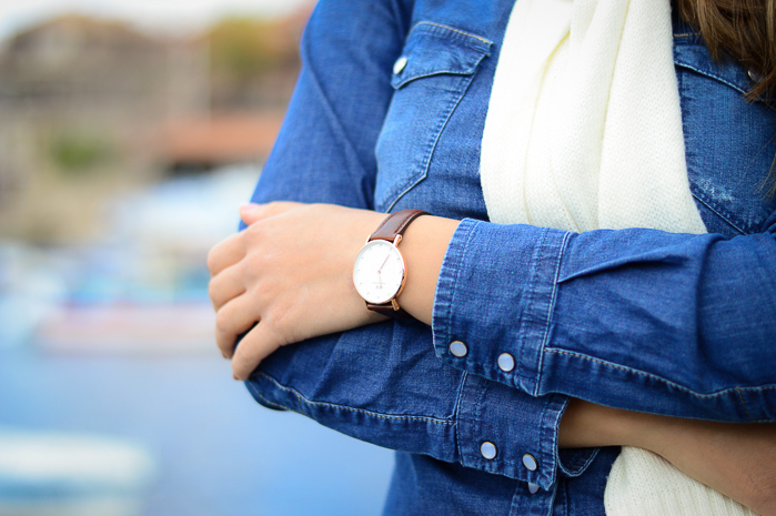 Daniel Wellington Watch Classy St Mawes Denina MArtin Harbour Girl