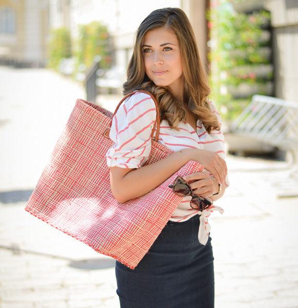 MIXING PATTERNS: STRIPES AND PLAID Bulgarian Fashion Blogger Denina Martin