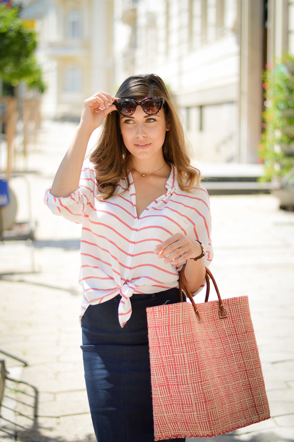 City Chic in Stripes and Tartan - Purely Me by Denina Martin