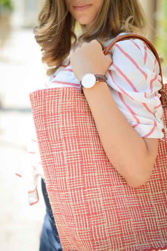 Daniel Wellington Watch Styled by Denina Martin