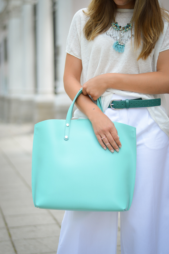 Turquoise Details by Bulgarian Fashion Blogger Denina Martin