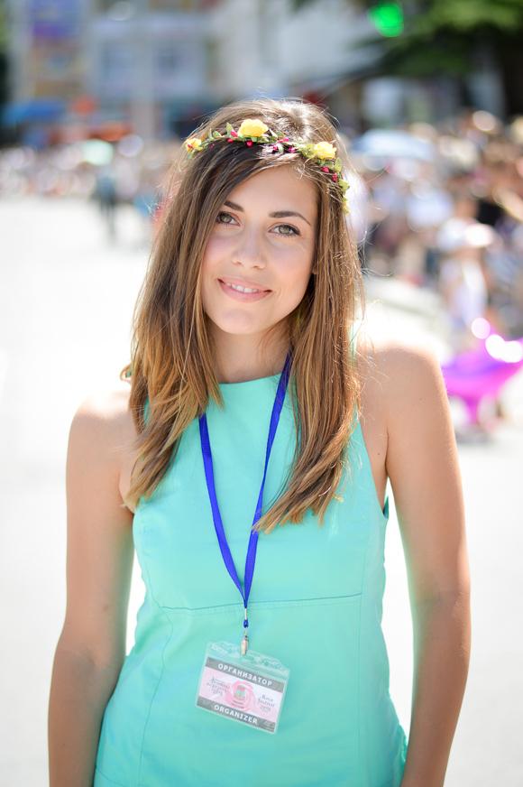 Denina Martin at the 112th Rose Festival in Kazanlak