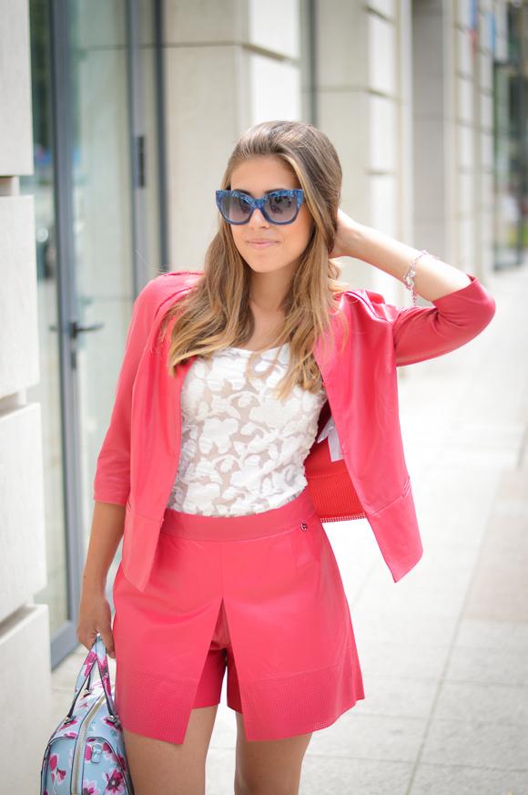 Denina Martin wearing Guess by Marciano sunglasses