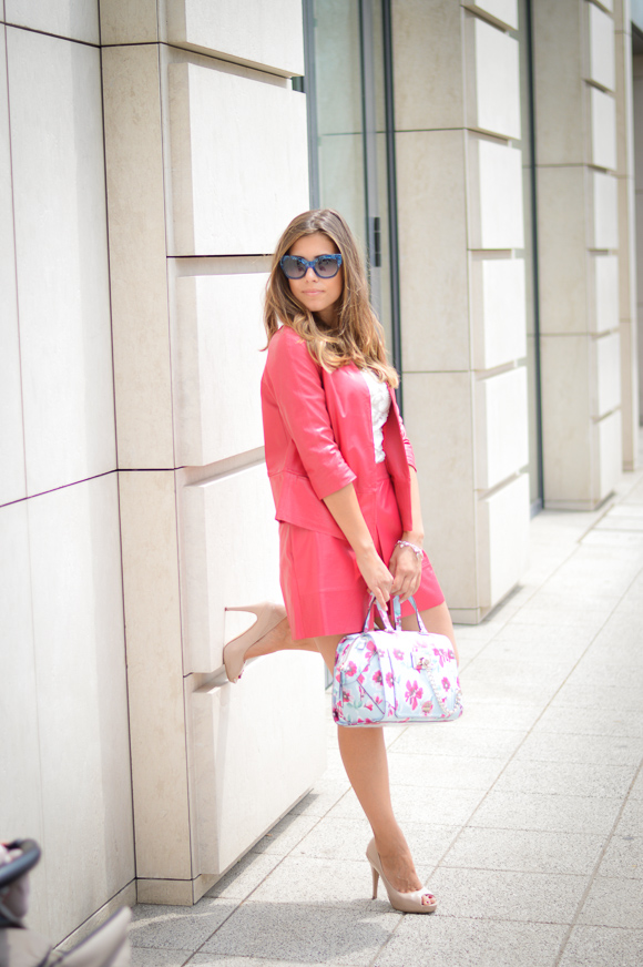 Fuchsia Skort Co-ord by Liu Jo  from Bulgaria Mall styled by Denina Martin