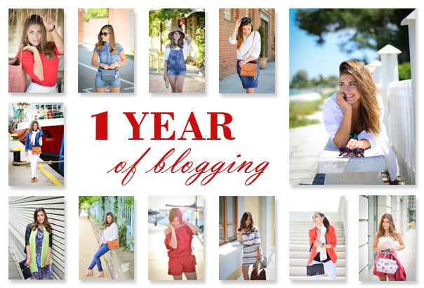 1 Year of Blogging - Purely Me by Denina Martin