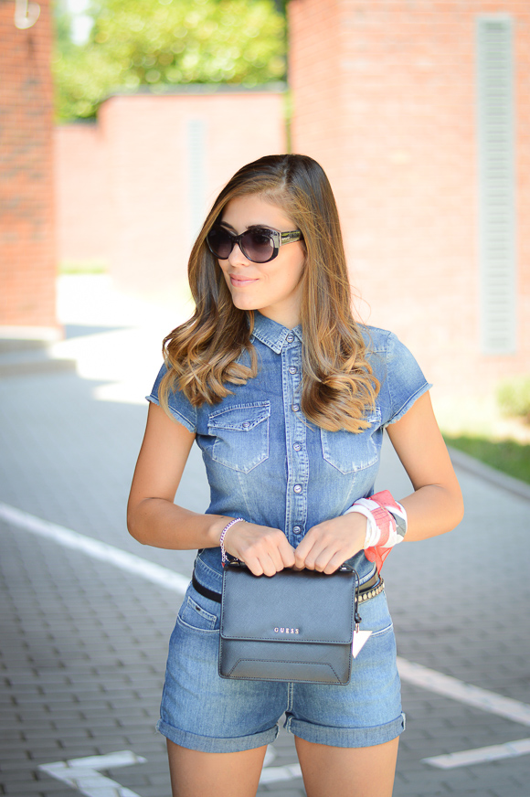 b5fc0a8d0fe7 Bulgarian Fashion Blogger Denina Martin with an outfit from Gas Jeans at  Bulgaria Mall Denina Martin s Love for Denim