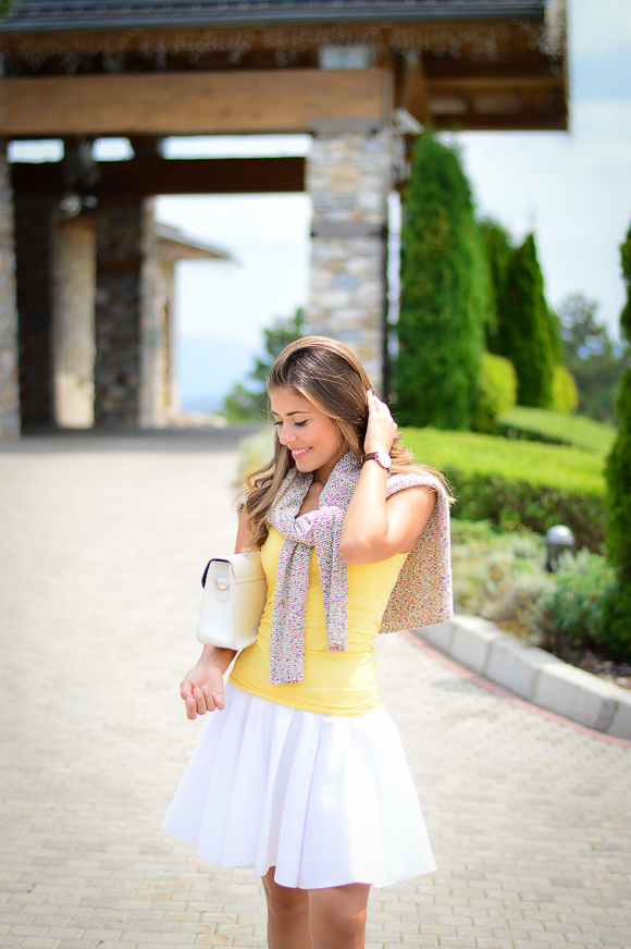 Bulgarian Fashion Blogger Denina Martin at Pirin Golf Hotel and SPA