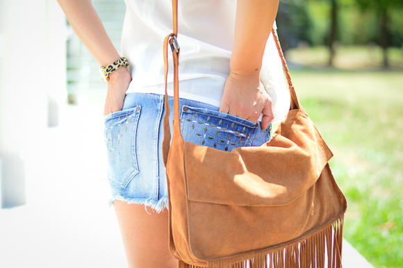 Denim mini from Pepe Jeans styled by Bulgarian Fashion Blogger Denina Martin