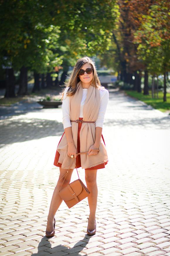 Burned-Orange-HM-Skirt-Autmn-Look-Denina-Martin-3