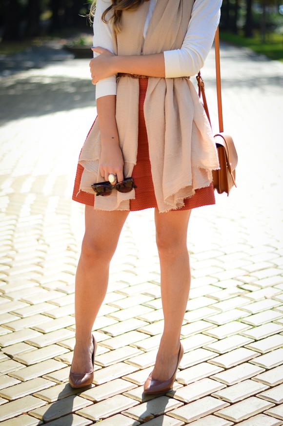 Burned-Orange-HM-Skirt-Autmn-Look-Denina-Martin-9