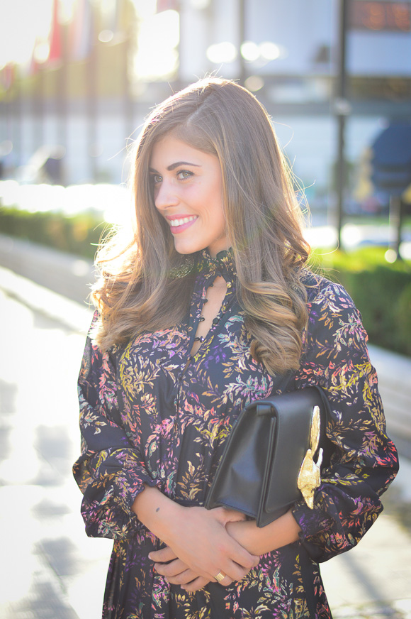 European Blogger Denina Martin Wearing H&M on Fashion Week
