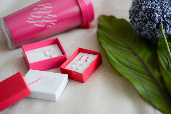 Support women diagnosed with Breast Cancer by purchasing the pink product series from AVON