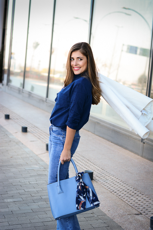 Bulgarian Fashion Blogger Denina Martin Comfy on the Go