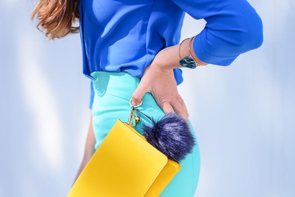 Denina Martin mixing bright colors
