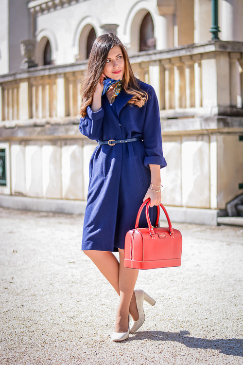 Forever-21-Navy-Duster-Coat-Kate-Spade-Bag-FreyWille-Scarf-Denina-Martin-7