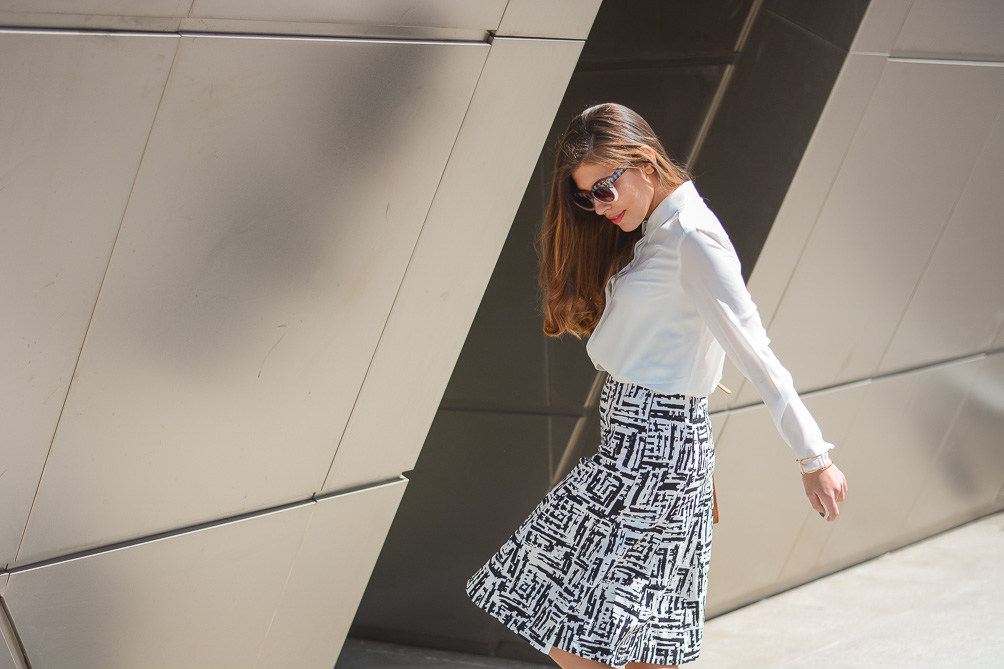 Street Style Print Skirt from Forever21