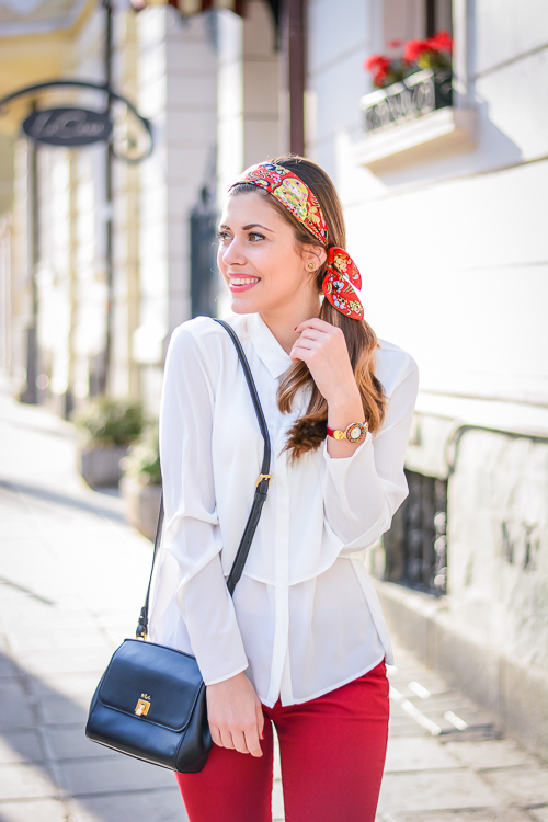 The Vivid Golden Kalinka of FREYWILLE styled by Bulgarian Fashion Blogger Denina Martin