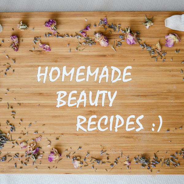Homemade Beauty Recipes by Denina Martin and Damascena Cosmetics