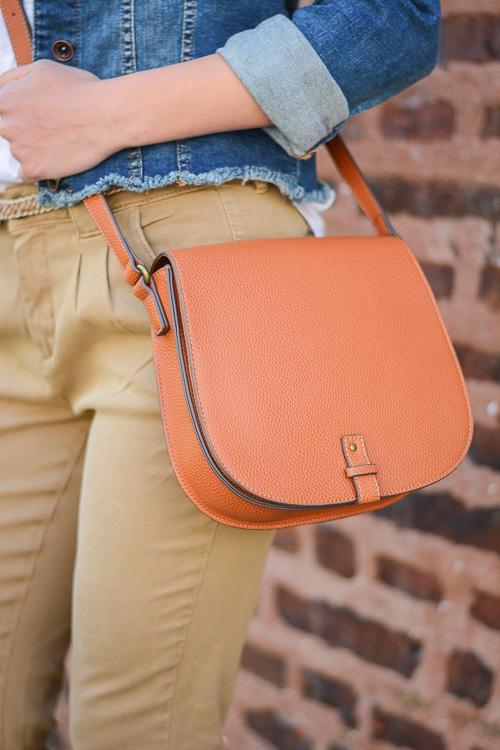 Wearing Esprit Bag