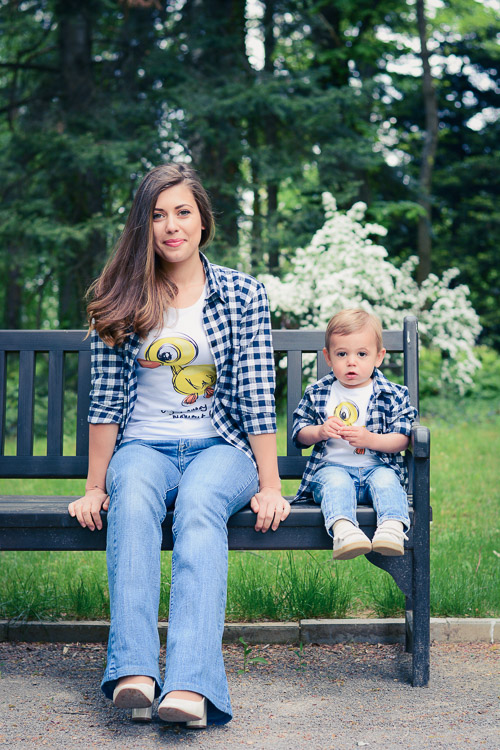 Mom and Son Matching Shirts