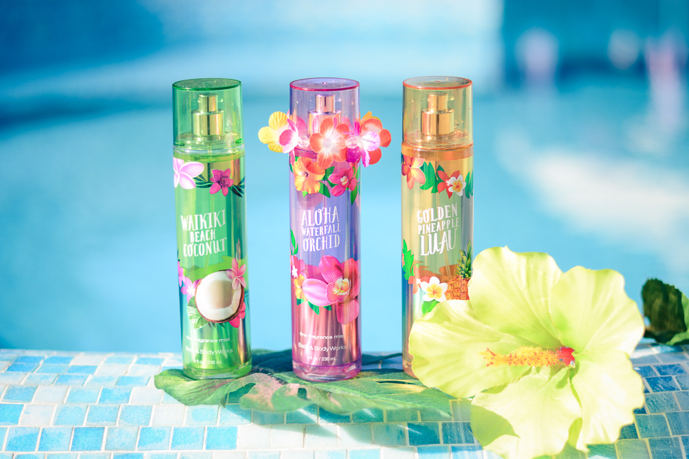 Hawaiian Party With Bath Amp Body Works Purely Me By Denina Martin