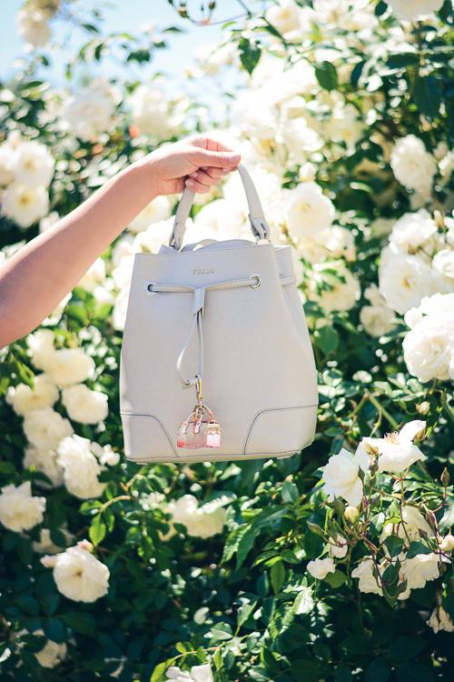 Furla Handbag and Bulgarian Roses