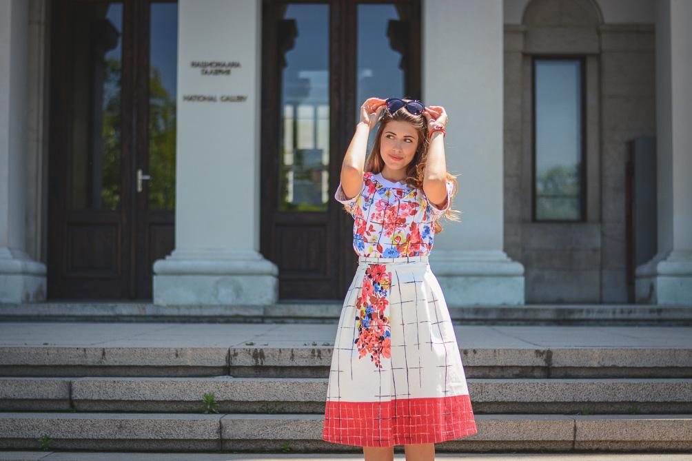 Florals Summer Outfit Liu Jo