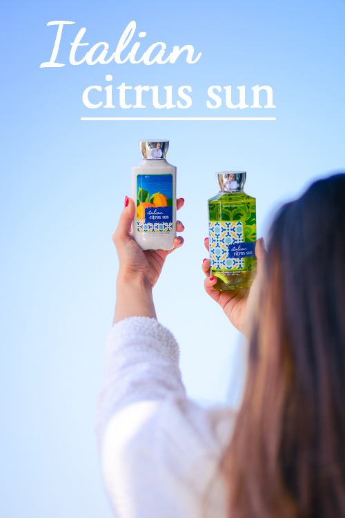 Italian Citrus Sun and Bath & Body Works Beauty Shower Gel and Body Lotion