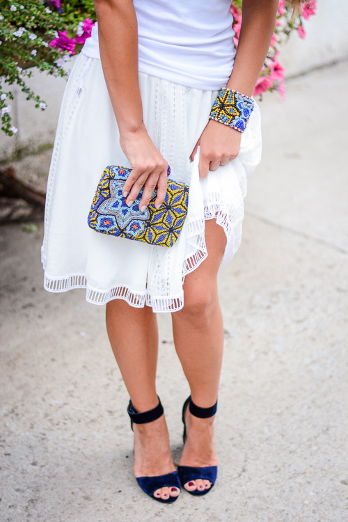 Week Shop MDL Summer Look Beaded Clutch