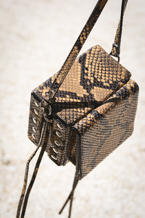HM Studio Collection Snakeskin Camera Bag