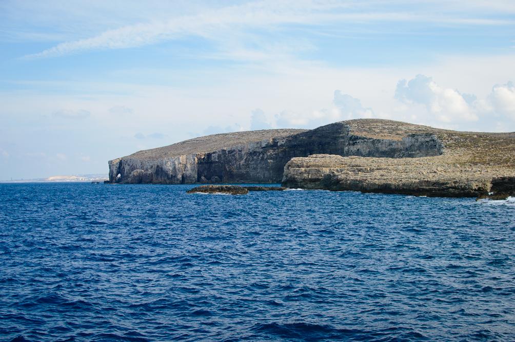 Elephant rock Comino Island