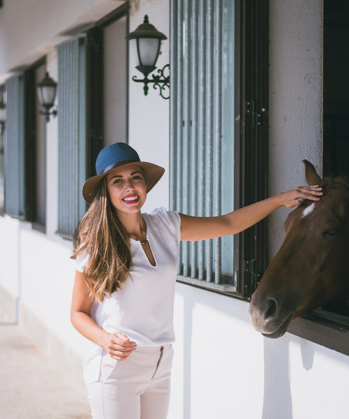 Horseback Riding Country Side Denina Martin