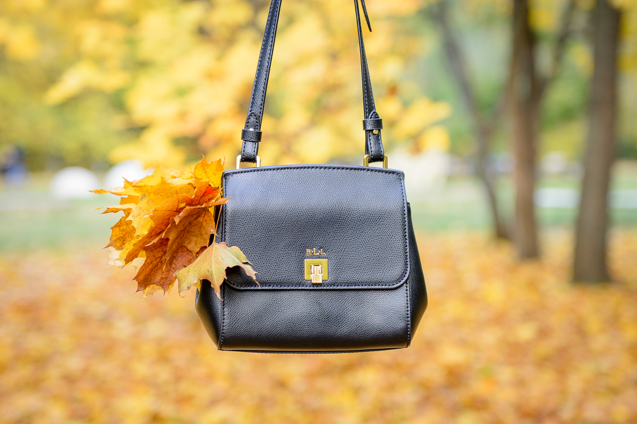Autumn colors Ralph Lauren bag