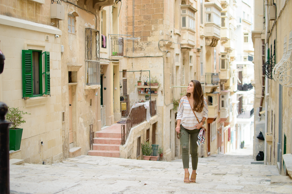 Exploring Malta city of Valletta