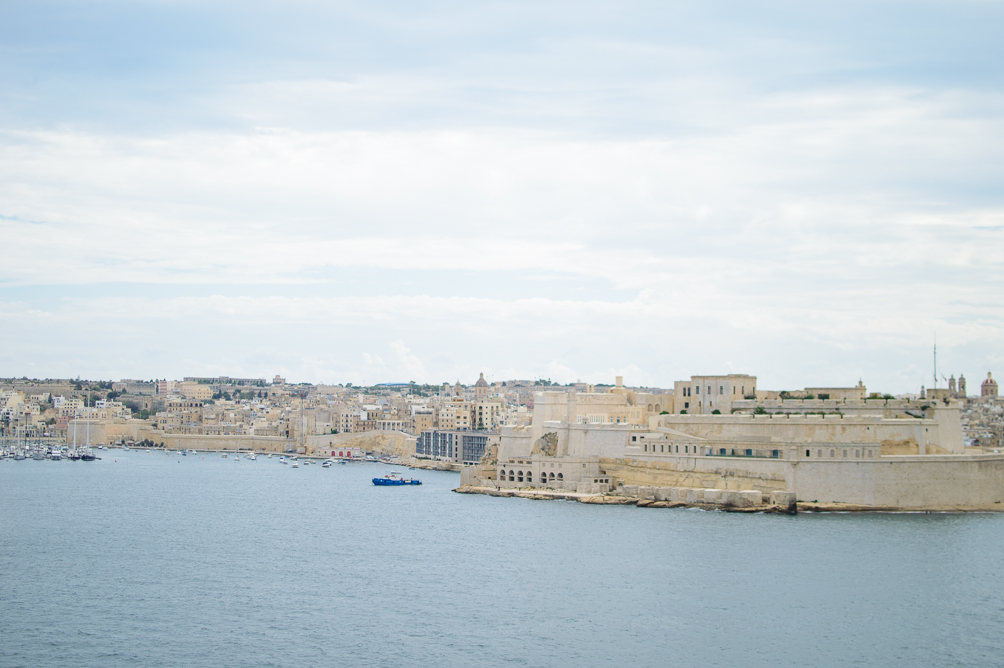 Exploring Malta historical city of Valletta harbour