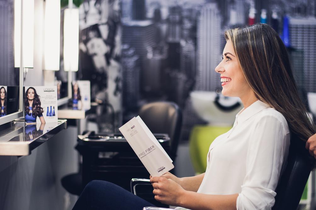 Loreal pro fiber therapy fashion blogger