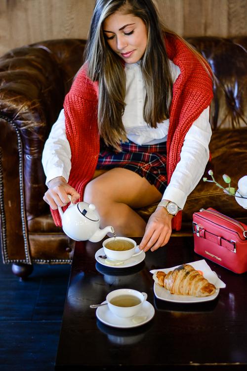 Warm retreat at cafe cafe Bulgaria Mall with Denina Martin