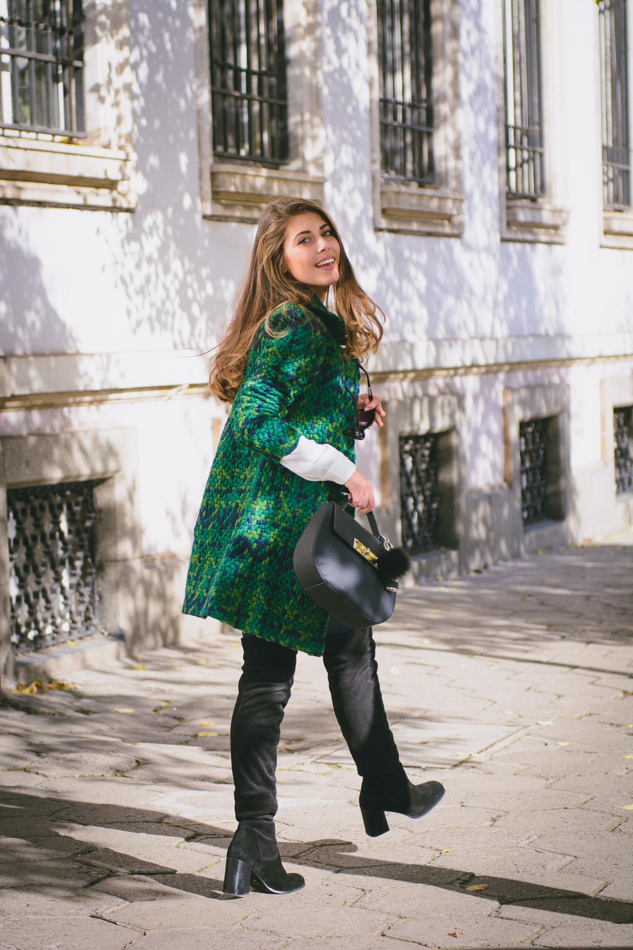 Desigual street style blogger