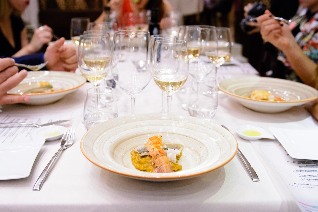 Dish by Chef Jordi Esteve 5th Premier gastronomy festival Bansko 2016