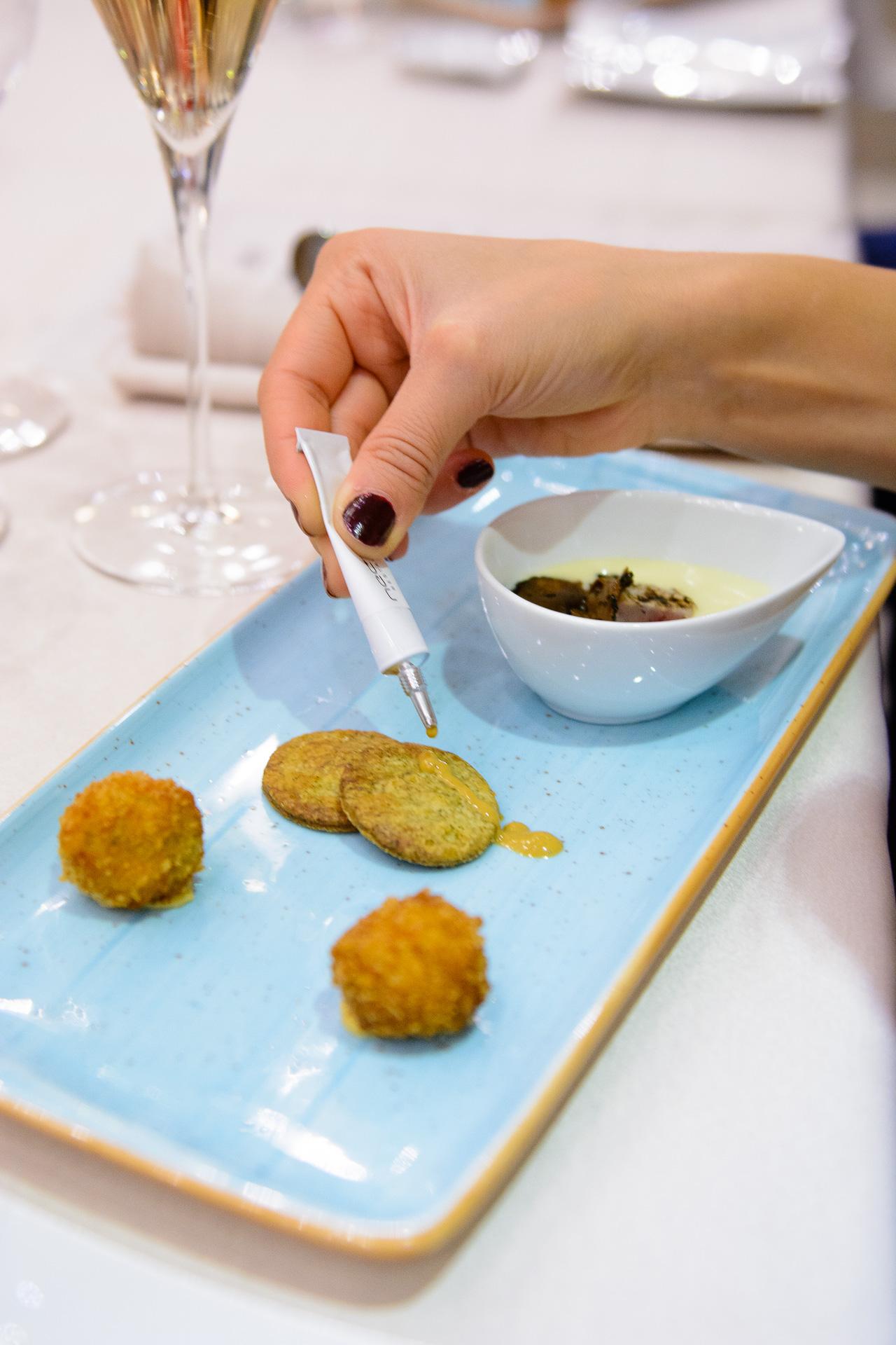 Dish by Chef Jordi Esteve 5th Premier gastronomy festival Bansko