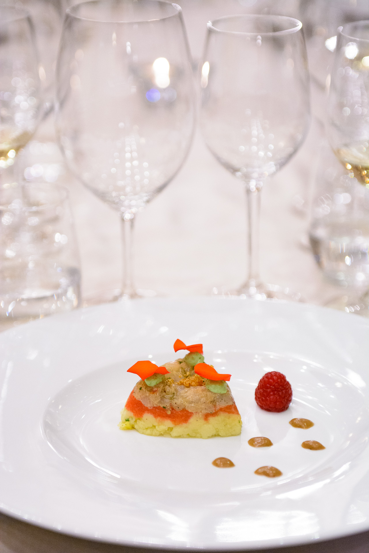 Dish by Chef Jordi Esteve 5th Premier gastronomy festival