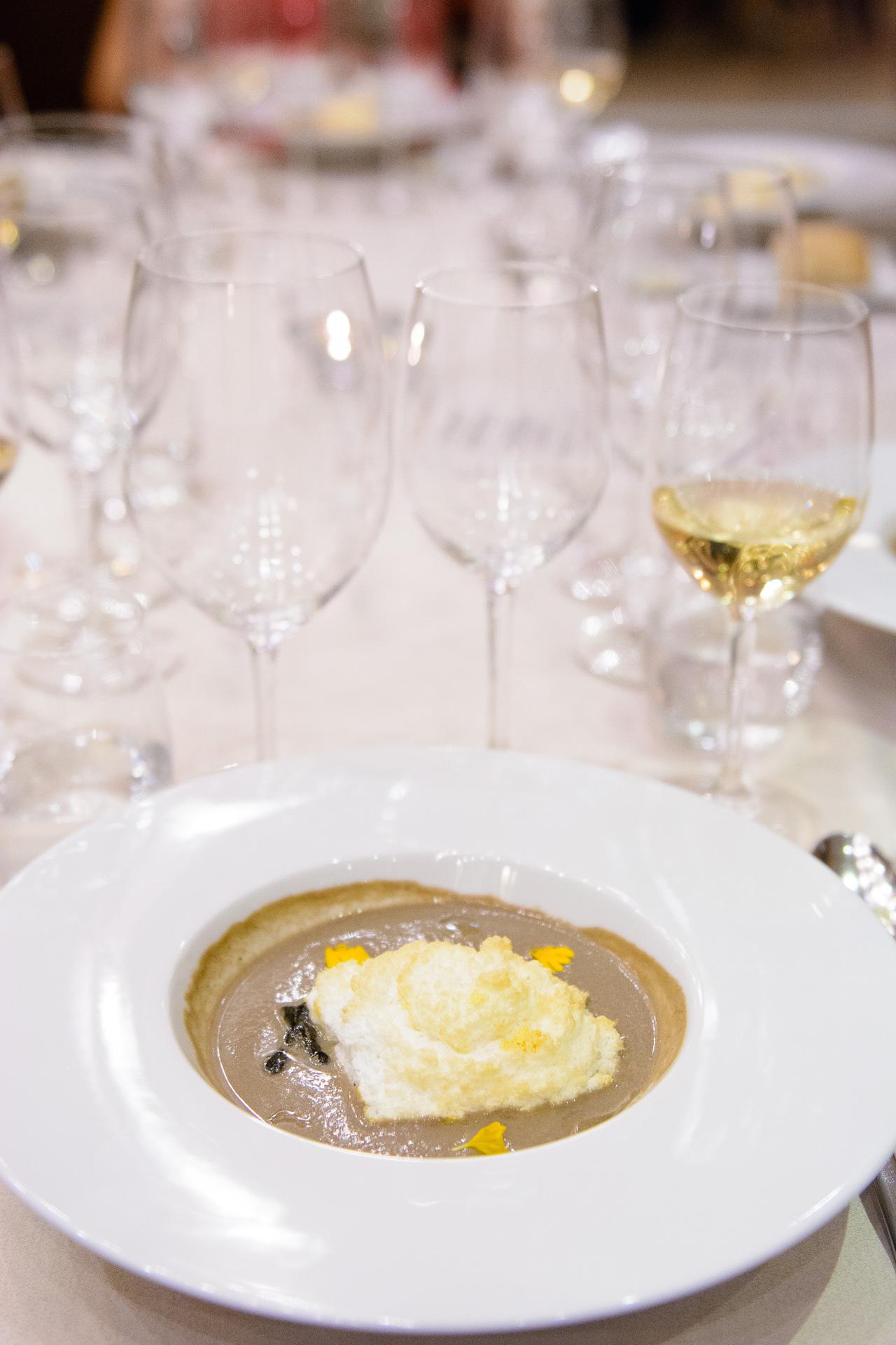 Dish by Chef Jordi Esteve