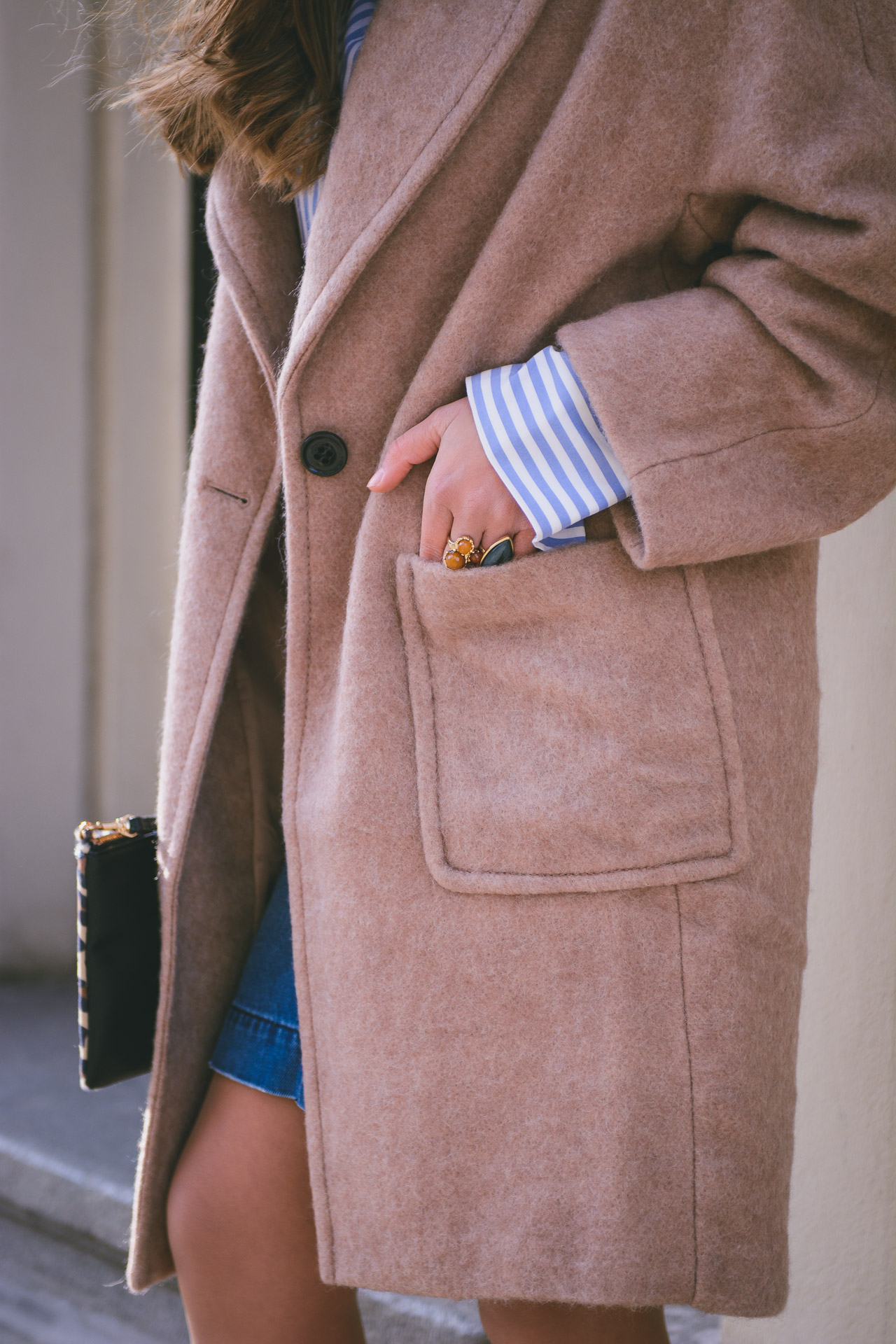 HM coat by Bulgarian blogger Denina Martin
