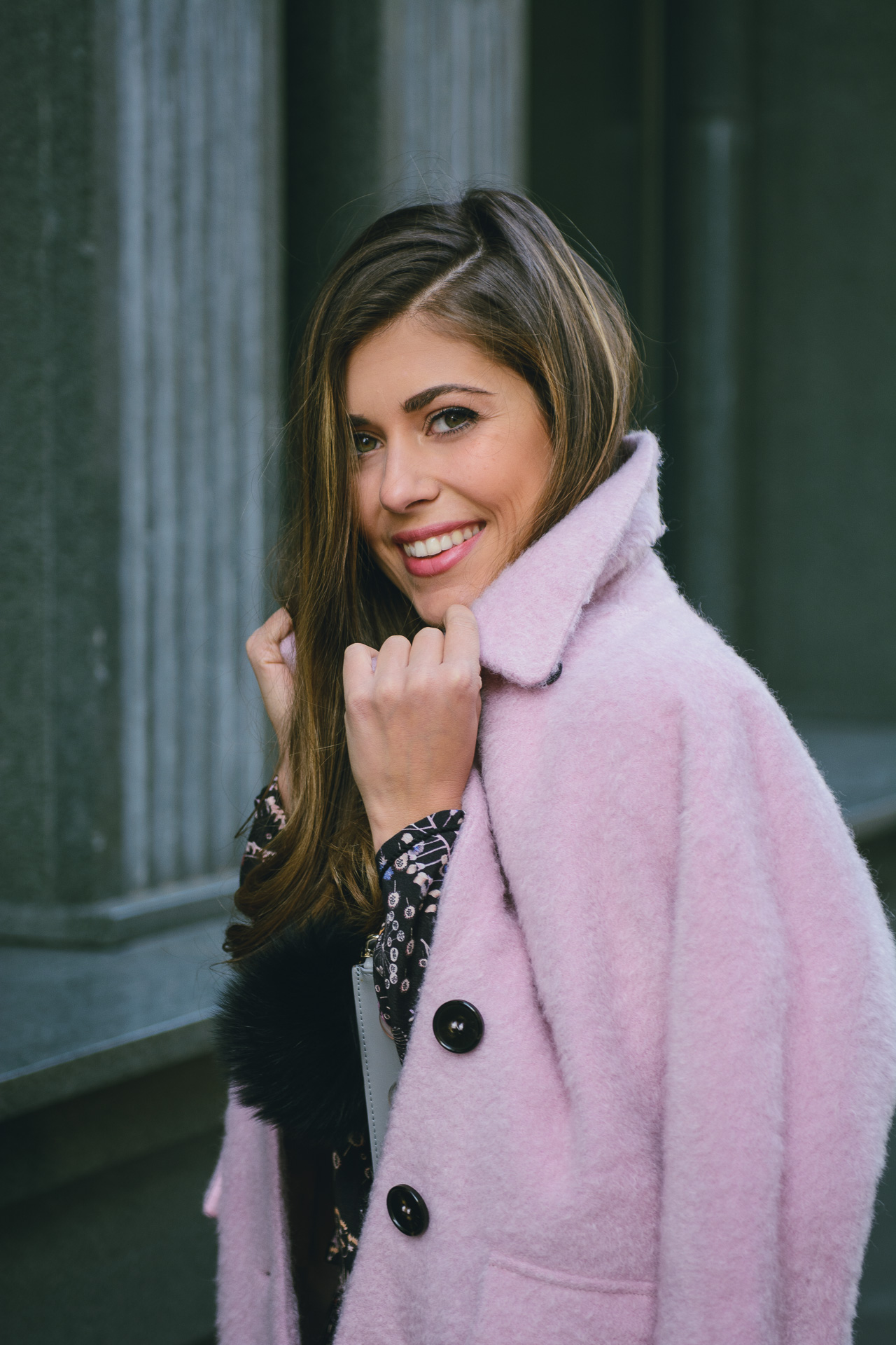 MDL max&co pink coat Denina Martin