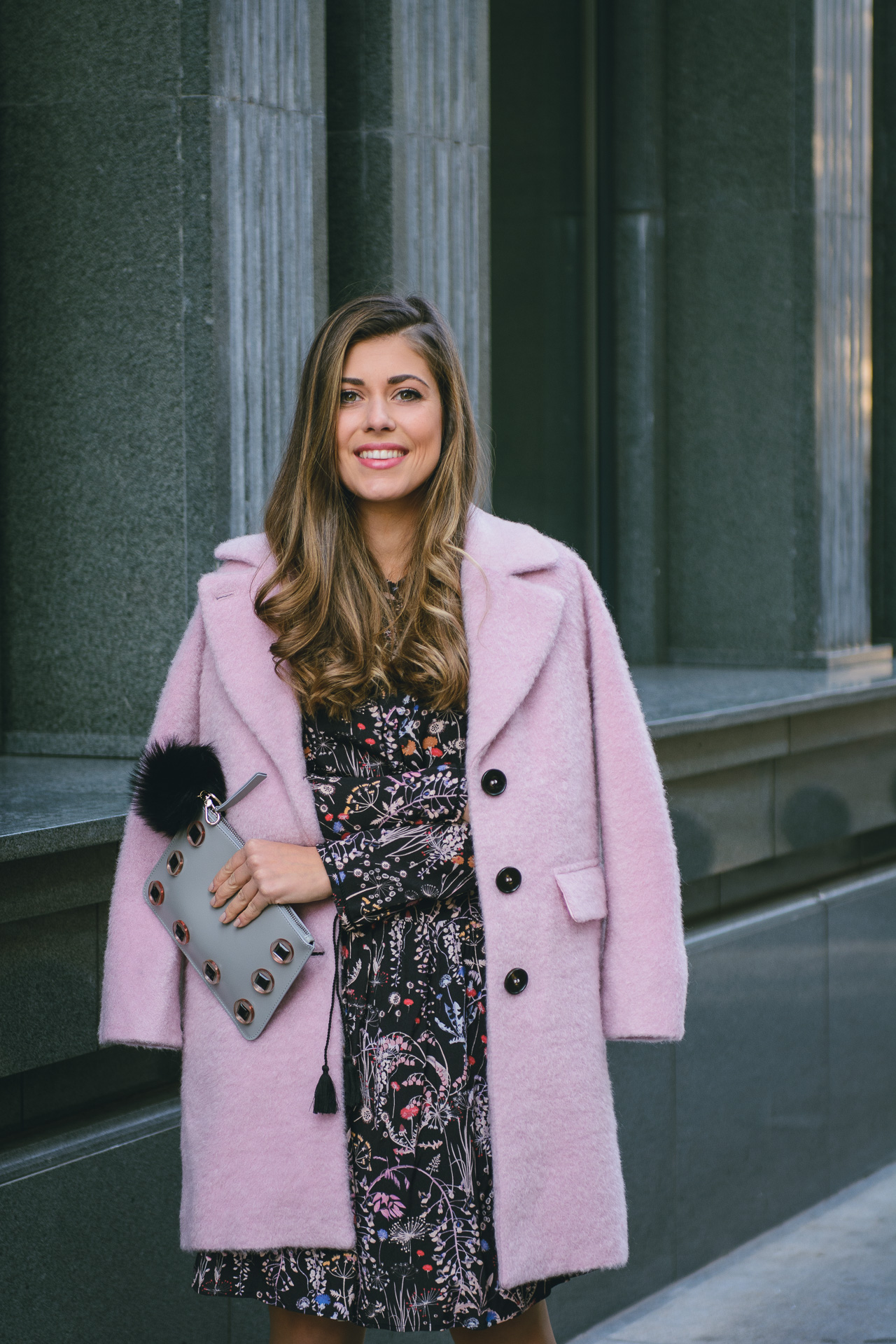 pink coat mdl max&co