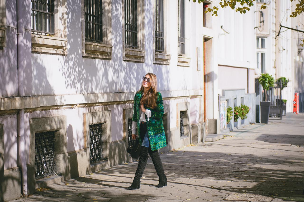 Street style Desigual coat