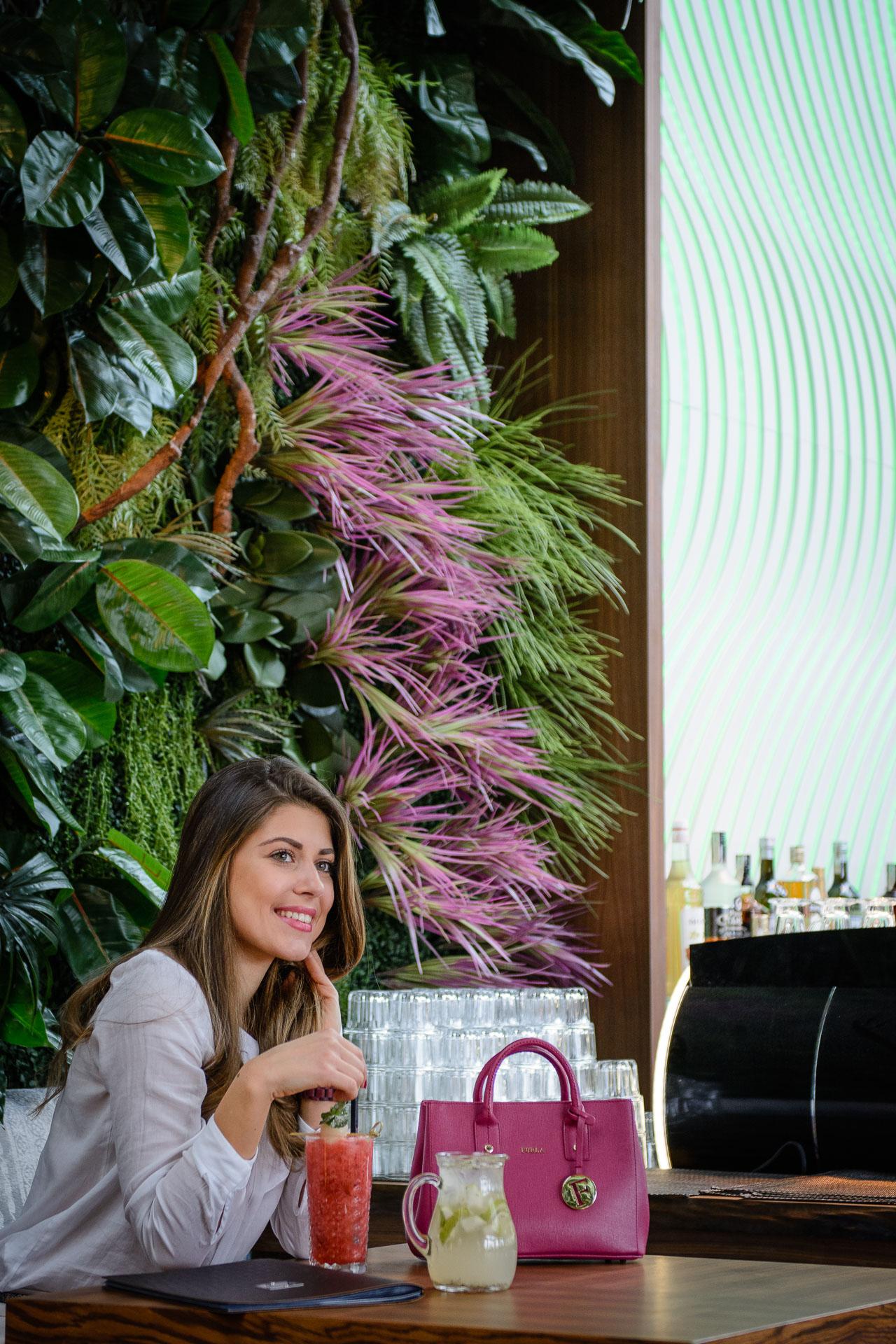 Denina Martin at Sasa Asian Pub