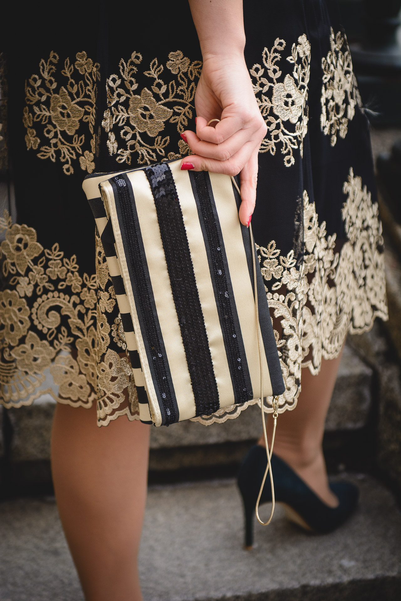 Pennyblack clutch bag